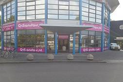 Showroom Q1Sanitair Beuningen
